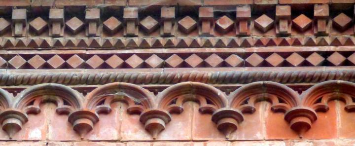 Autres elements de facade du chateau